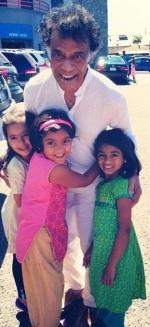 Dadaji with kids