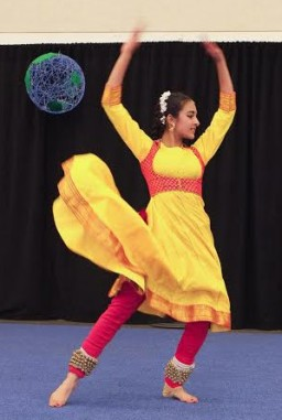 Menlo School's International Fair celebrates the diversty of cultures on campus. Photo by Pete Zivkov.